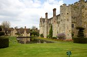 image of hever  - Hever Castle in Kent UK in springtime - JPG