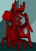 Chairs Pile