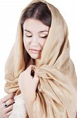 Young Woman In The Shawl