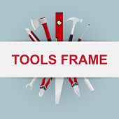 tools frame