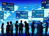Business People Stock Exchange Concept
