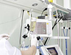 picture of icu  - Modern medical devices in ICU - JPG