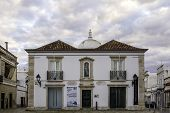 stock photo of church  - Church of Nossa Senhora da Soledade Municipal Museum entry - JPG