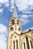 picture of evangelism  - bell tower of the Evangelical - JPG