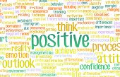 picture of positive thought  - Think or Stay Positive as a Positivity Mindset - JPG