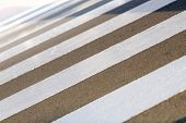 foto of zebra crossing  - Stripes on the zebra crossing - JPG
