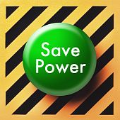 Save power button