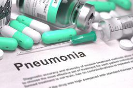 picture of pneumonia  - Pneumonia  - JPG