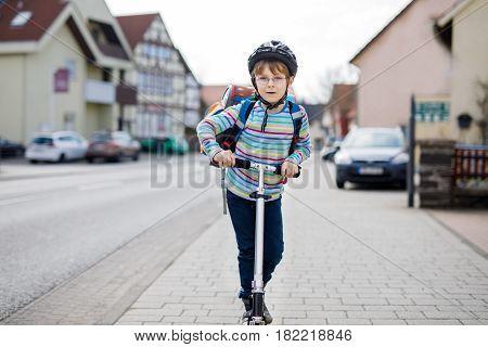 Active school kid
