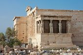 Erechtheion Temple, Acropolis, Athens, Greece