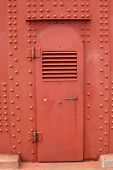 Door on golden gate