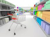 Einkaufen - im Supermarkt