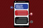 Text Sign Showing Supply Vital Services To The Industry. Conceptual Photo Power Supplies For Compani poster