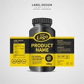 Label Design 105 poster