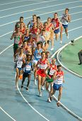BARCELONA, SPAIN - JULY 27: Men 10000m final during the 20th European Athletics Championships at the