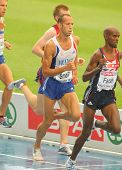 BARCELONA, SPAIN - JULY 29: Noureddine Smail of France competes on the Men 5000m during the 20th Eur