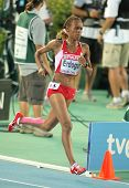 BARCELONA - AUG 1: Meryem Erdogan of Turkey during 5000m women final of the 20th European Athletics