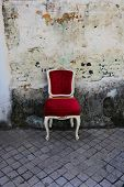Red Old Chair
