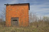 picture of tobacco barn  - Agriculture History  - JPG