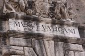 Vatican Museums Lettering