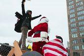 Santa Crossing Over