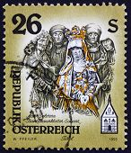 Postage stamp Austria 1995 Sculpture of Mater Dolorosa