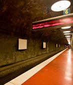 Stockholm Subway Station