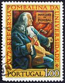 Postage stamp Portugal 1972 Marquis of Pombal