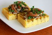 Grilled Polenta with Wild Mushrooms