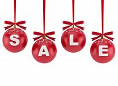 Christmas Decorations With The Word Sale