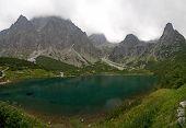 Green Lake In Tatra Mountains
