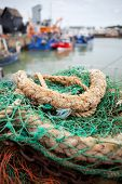 Whitstable Harbour Fishing Trawler