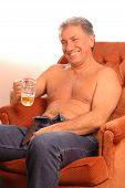 Happy Beer Drinker