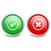 2 popular buttons - checkmark