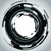 lente de câmera abstrata