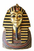 stock photo of pharaoh  - Modern copy of ancient egyptian Tutankhamen - JPG