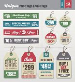 stock photo of cut  - Sale Tags  - JPG