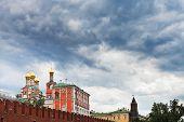 Rain Clouds Over The Kremlin