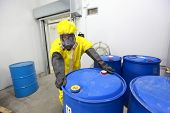 picture of toxic substance  - risky job  - JPG