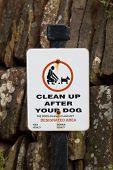 Dog Fouling Sign