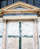 Antique Marble Texture With Classic Colums