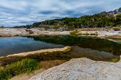 Beautiful Rock Formations Carved Smooth by the Crystal Clear Waters of the Pedernales River