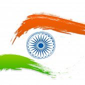 Creative concept for Indian Independence Day or Republic Day.