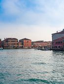 View Of Venice From The Canal