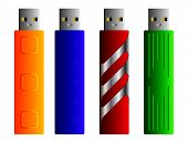 Various USB sticks set 2
