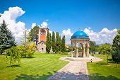Orthodox Monastery Zica, built in 13th century, near Kraljevo, Serbia.