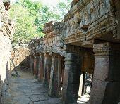 Banteay Kdei Temple Ruined Corridor