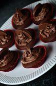 Dark Chocolate Orange Cupcakes