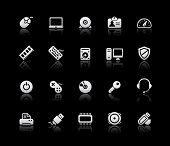 Computer Icons // Silver Series