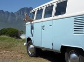 picture of campervan  - Woman - JPG